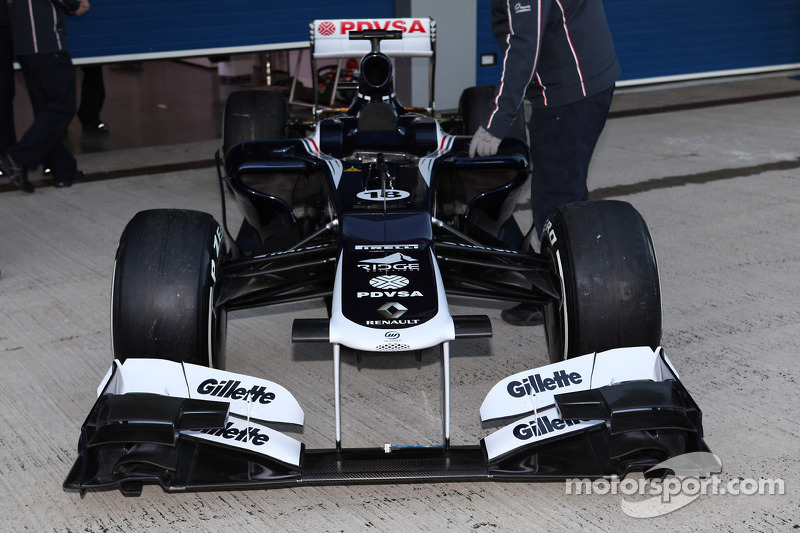 Williams launch of FW34 report