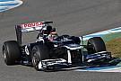 Williams Jerez test day 2 report