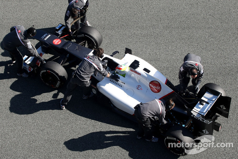 No 'revolution' seen on 2012 grid yet - Sauber