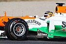 Sensational Hulkenberg fastest at second day of Barcelona test