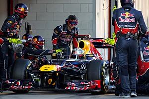 Formula 1 Red Bull Barcelona testing -  Day 2 report