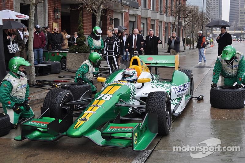 Lotus HVM Racing wraps Sebring test