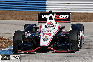 IndyCar Briscoe fastest at Infineon Raceway test