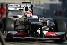 Sauber Barcelona test II -  Day 1 report