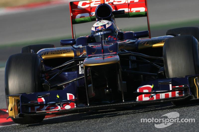 Toro Rosso Barcelona test II -  Day 3 report
