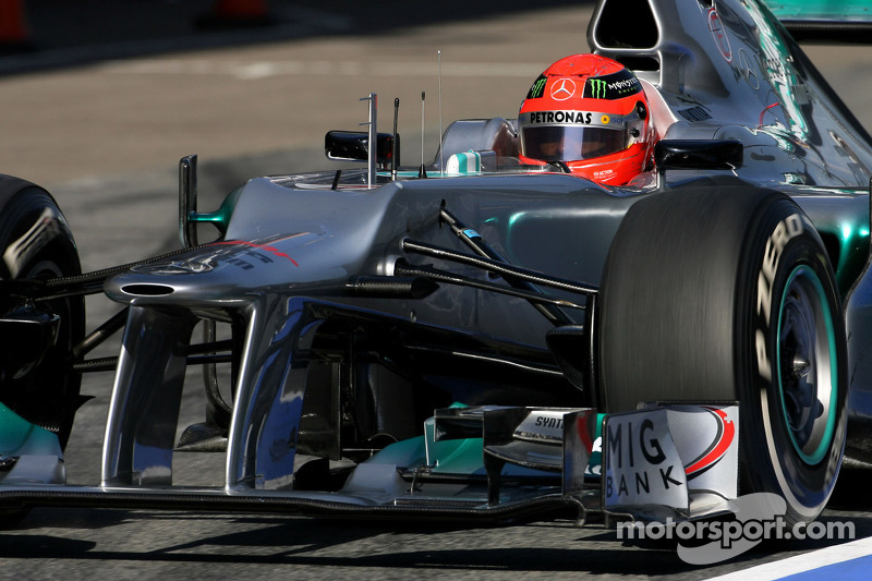 Mercedes Barcelona test II -  Day 4 report