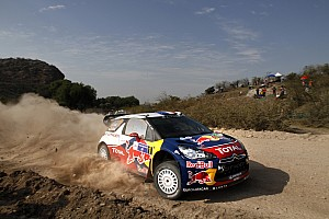 WRC Citroen drivers pull away with Rally Mexico lead