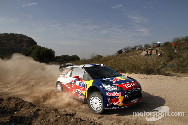 Citroen drivers pull away with Rally Mexico lead