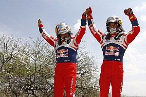 WRC Loeb and Elena celebrate sixth-consecutive Rally Mexico victory