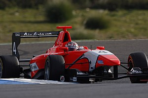 GP3 Mitch Evans fastest in opening day of Barcelona test