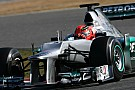 Schumacher quickest for Mercedes in practice 2 for Australian GP