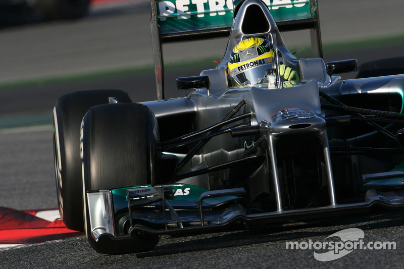 Mercedes happy with Friday practice results for Australian GP