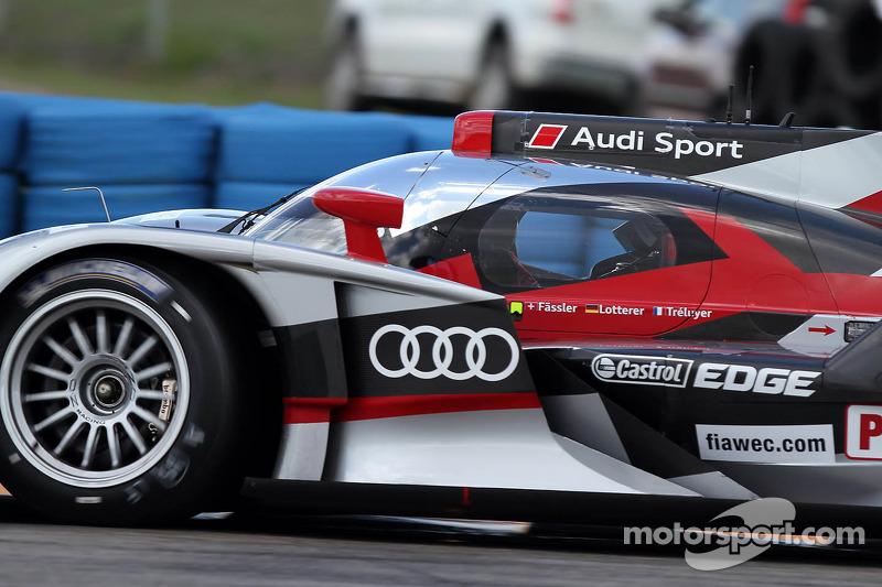 Lotterer leads Audi sweep in qualifying at Sebring
