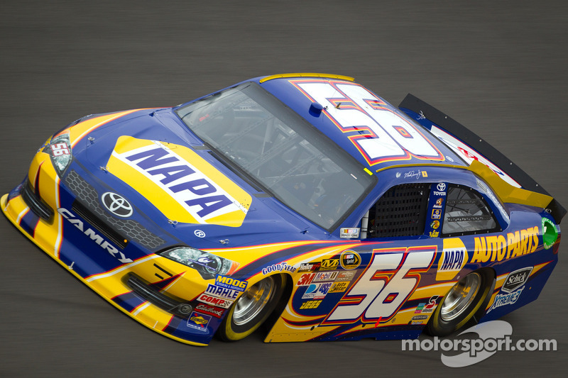 MWR's Truex, Bowyer and Vickers finish in top 5 at Bristol