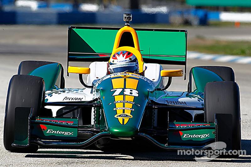 Lotus HVM Racing St. Pete qualifying report