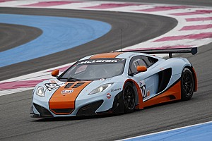 Endurance New MP4-12C GT3 set for competitive world racing debut