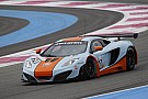 New MP4-12C GT3 set for competitive world racing debut