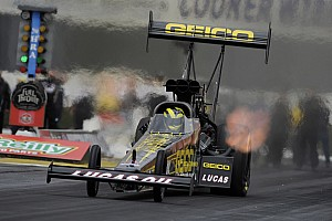 NHRA Lucas leads Las Vegas Friday qualifying