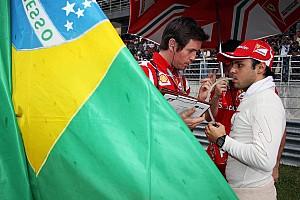 Formula 1 Barrichello tells Massa to remember F1 joy