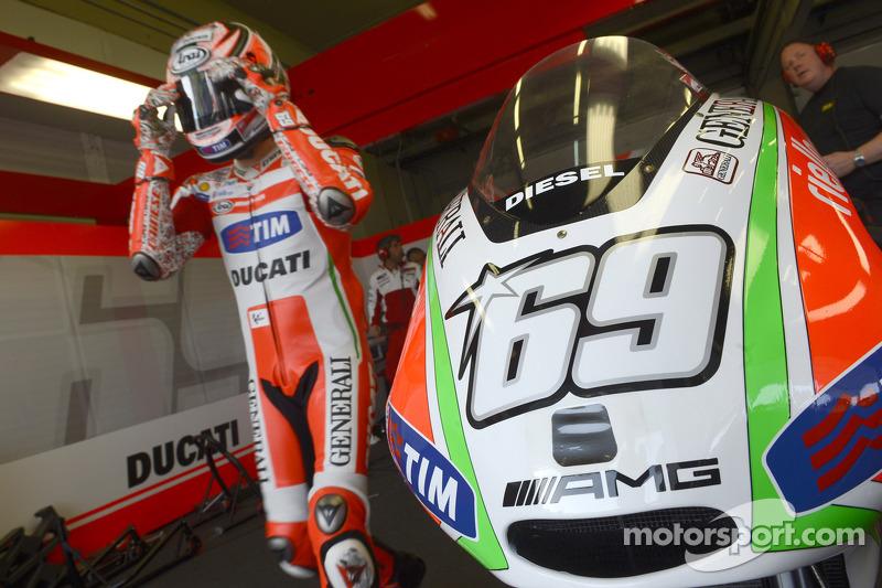 Rain affects Ducati test at Mugello