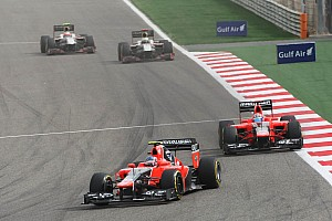 Formula 1 Marussia Bahrain GP - Sakhir race report