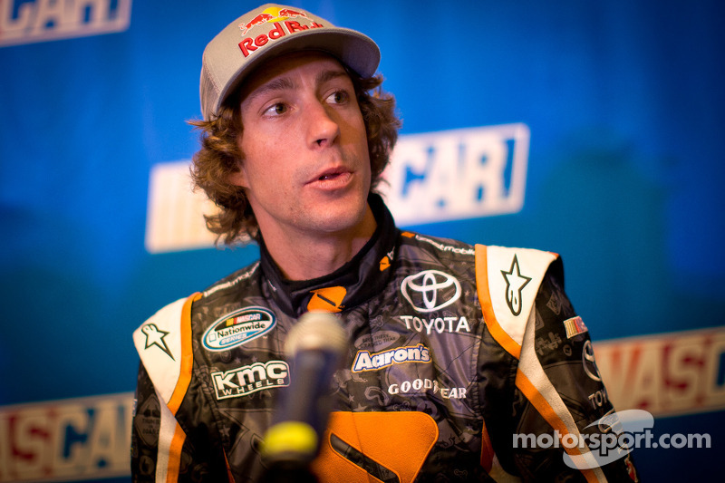 """Travis Pastrana is """"really pumped"""" before 1st Nationwide start"""
