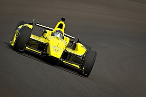 IndyCar Newgarden posts top time at Indy on practice day 3