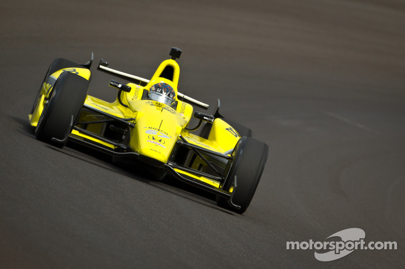 Newgarden posts top time at Indy on practice day 3