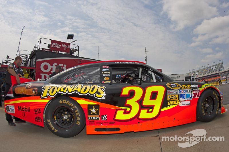 Too little, too late for Newman at All-Star race