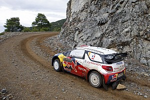 WRC French ace Sebastien Loeb moves into Acropolis Rally overall lead
