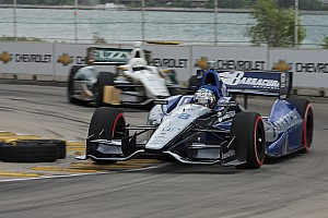 IndyCar Tagliani pounds out top-ten finish at Belle Isle