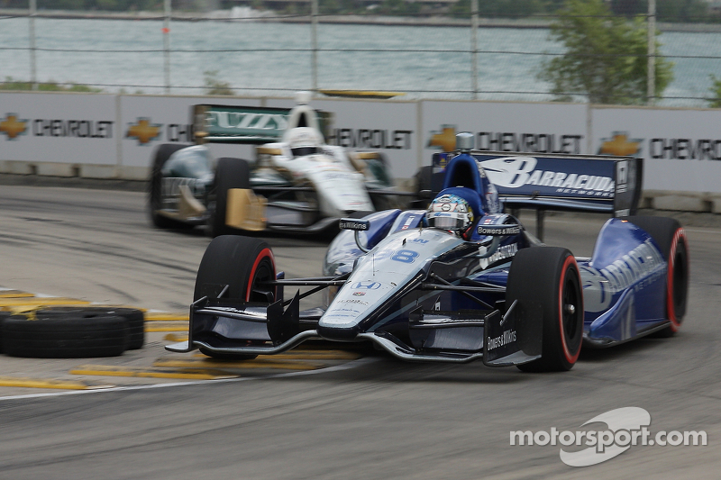 Tagliani pounds out top-ten finish at Belle Isle