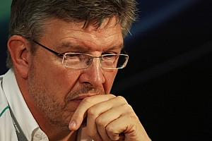 Formula 1 Brawn 'optimistic' over Ecclestone row solution