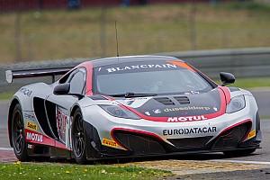 Blancpain Sprint McLaren takes pole in thrilling Slovakia qualifying