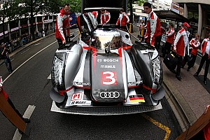 Le Mans Audi is ready for the Le Mans 24 Hours