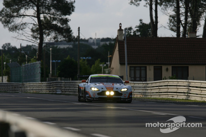 Aston Martin Vantage GTE scores podium on Le Mans debut