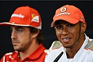 'No problem' with Hamilton or Vettel at Ferrari - Alonso