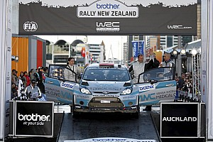 WRC Leg report Stohl sealed his WRC comeback in the Top 10 and scoring points in NZ