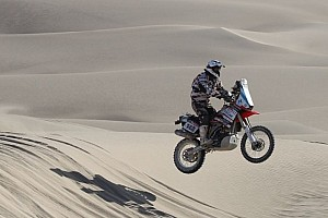 Dakar Breaking news Honda to field works motorcycle project for 2013 Dakar Rally