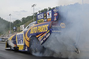 NHRA Race report Capps shoulders blame for crossing Norwalk center line