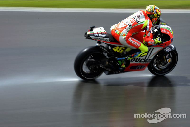 Sun and rain at Sachsenring for German GP free practice