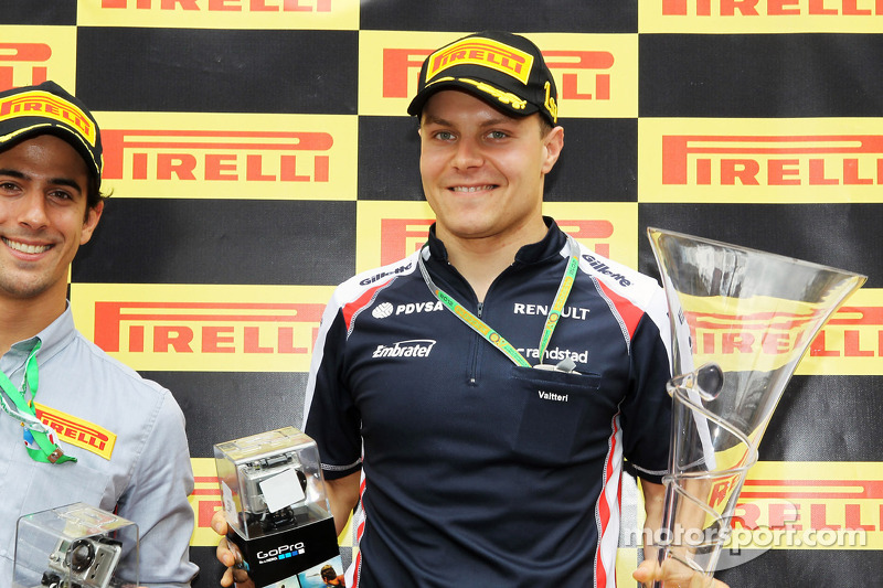 GP3 titlist Valtteri Bottas to test for Williams at Young Driver Test
