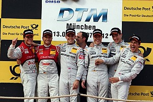DTM Race report Schumacher and Green hand HWA Mercedes the team cup in Munich