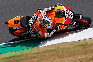 MotoGP Qualifying report Pedrosa sets lap record to secure Mugello pole