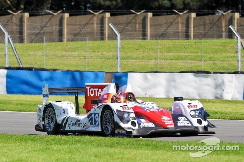 Sébastien Loeb Racing just off the podium