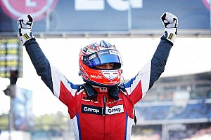 GP3 Race report Evans wins in Germany amongst safety car chaos