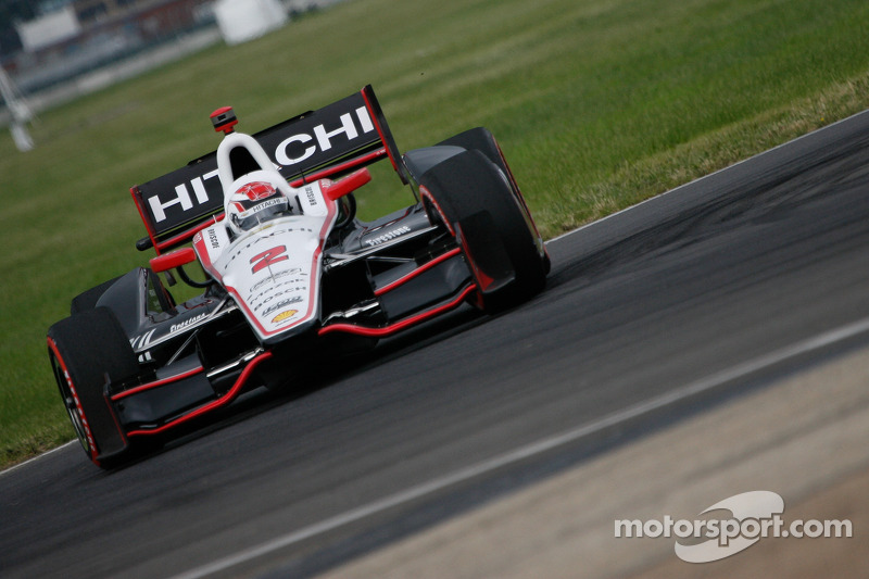 Briscoe leads strong Team Penske in Edmonton qualifying