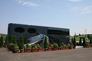 Formula 1 Breaking news Ecclestone's motor home in Germany, Ecclestone not