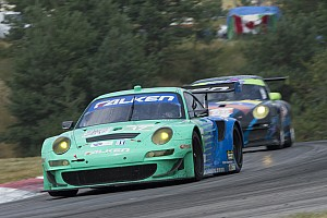 ALMS Breaking news Team Falken earns first GT top-five of the year
