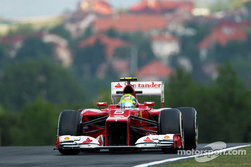 Ferrari viewed Friday practice on Hungaroring as typical opening grand prix day
